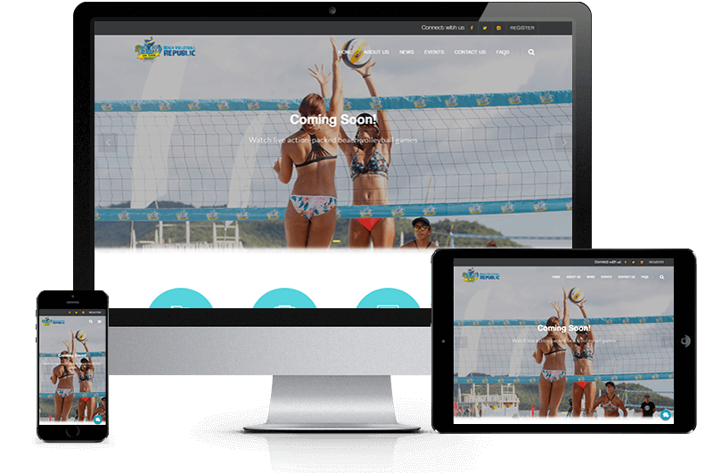 beach volleyball republic mobile devices